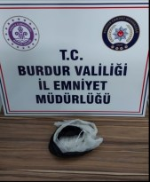 Burdur polisinden uyuşturucu operasyonu: 1 tutuklama