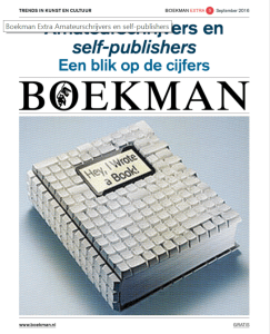 Publicatie Boekman Extra #5 over amateurschrijvers en self-publishers