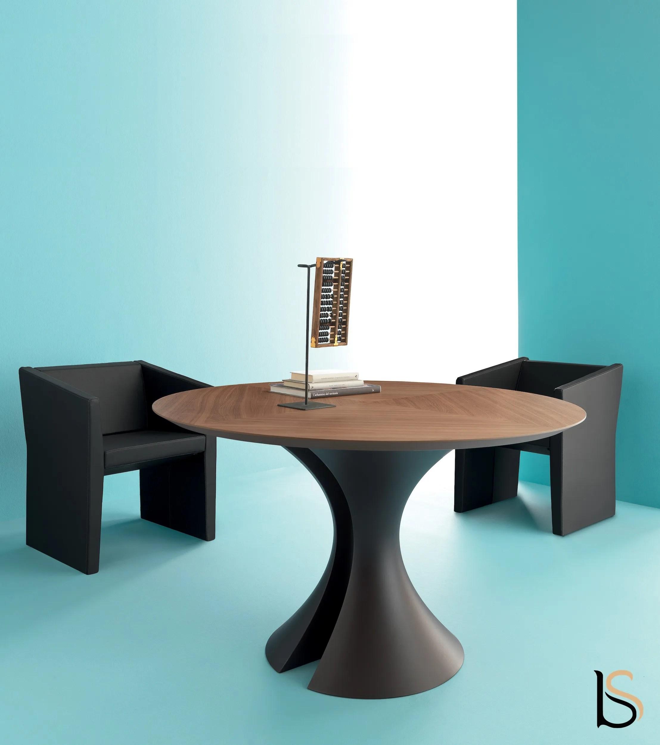 table de reunion ronde ola martex tables de reunion martex