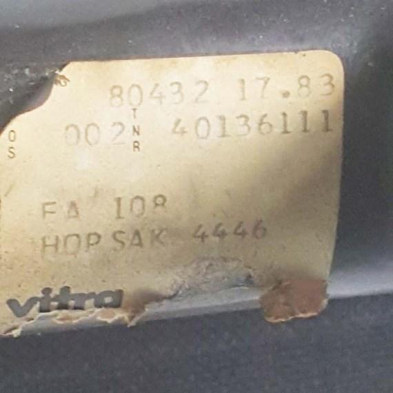 Herman Miller Eames EA108 Hopsak Black