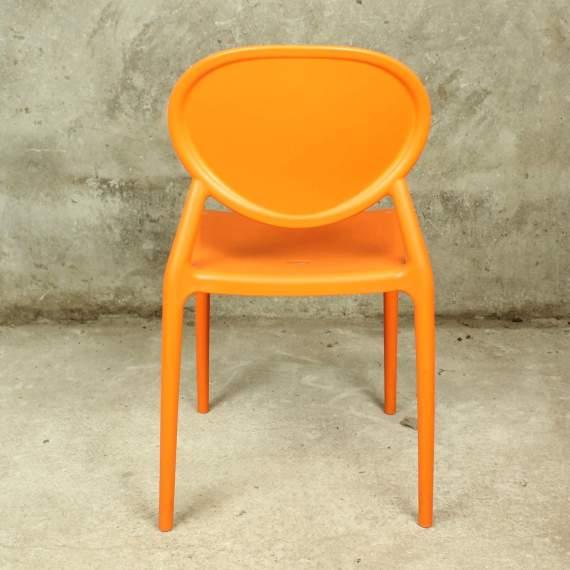 SCAB Stapelbare Stoel Gio oranje