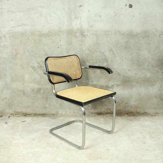 Breuer Cesca stoel chair zwart black