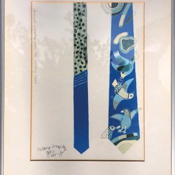 Cobra The Society Shop - Corneille ontwerp stropdas - 1987
