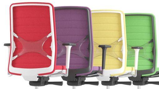 Ergo Wind rug kleuren | Bureaustoelen MKB | Narbutas