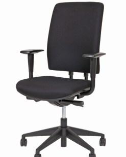Bureaustoel Ergo 34/35 met geheel gestoffeerde zitting en rug | Bureaustoelen MKB