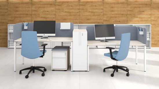 Bureau Nova HI, met witte poot en wit blad Narbutas