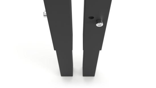 NOVA HI hoogte instelbare poot kleur zwart   Narbutas   Bureaustoelen MKb