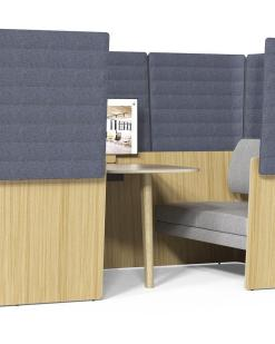Archipelago Room-in-room opstelling. Bureaustoelen MKB