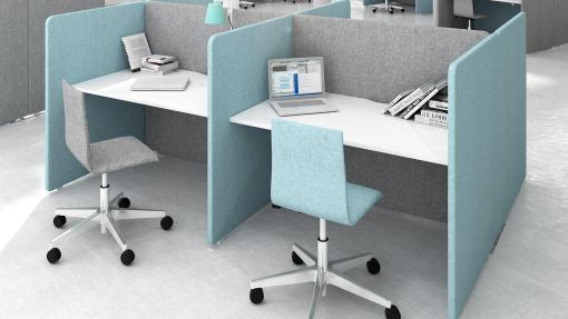 MY Space bureau en scherm stoel   Bureaustoelen MKB