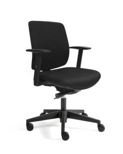 Ergo 300 bureaustoel met gestoffeerde rug