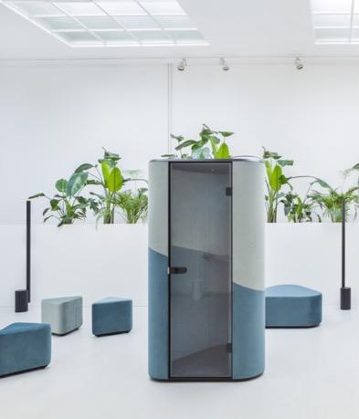 Office Booth Hana