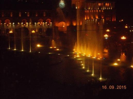Republic Square bei Nacht
