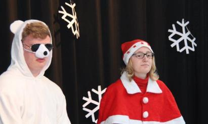 Schärpe & Weihnachtsspiel Dez17 21
