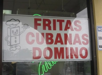 Fritas Domino La Original is the 1st Frita Joint
