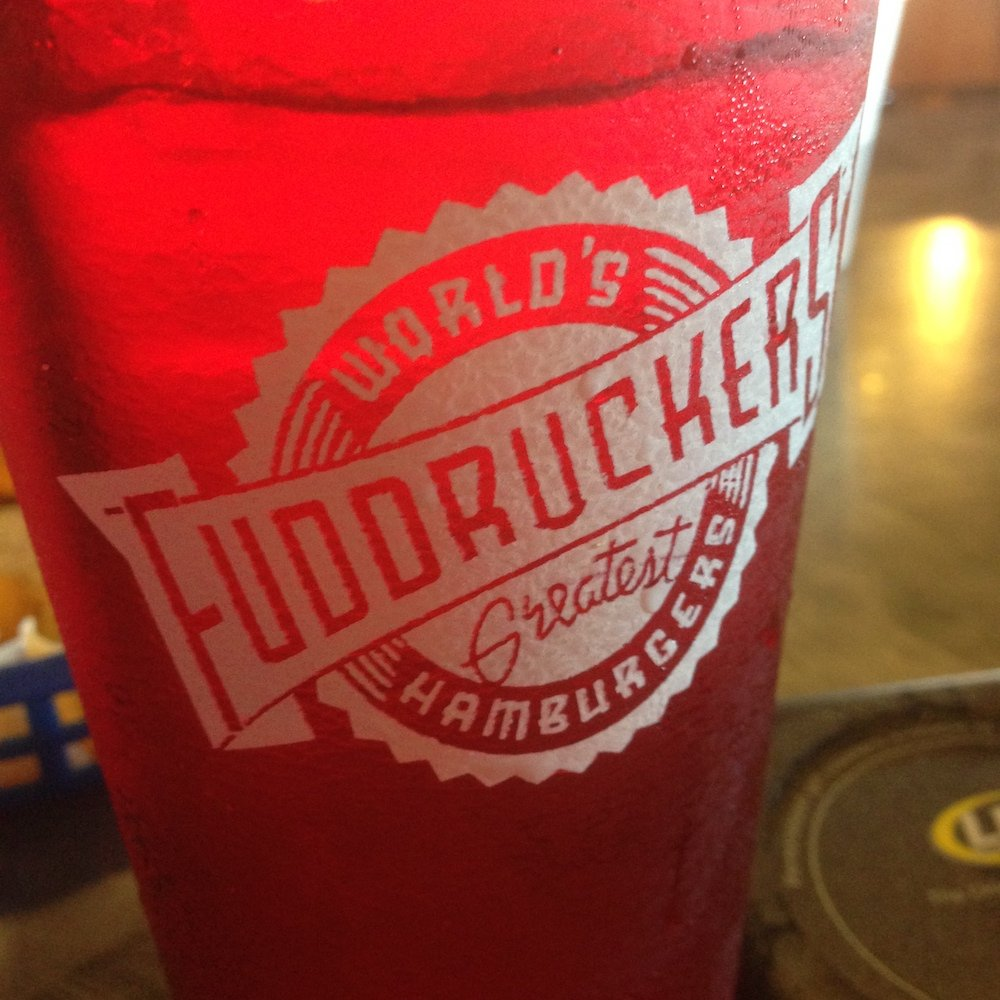Fuddruckers Red Cup