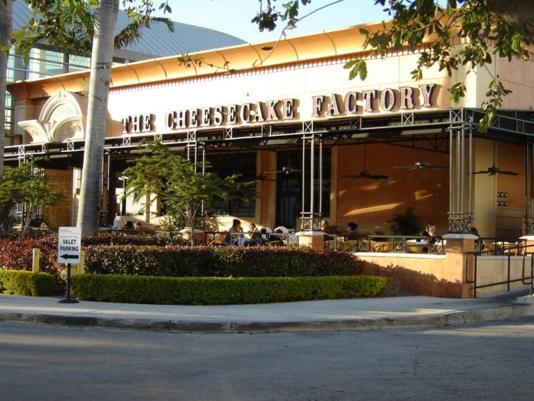 Cheesecake Factory, been there & love that!