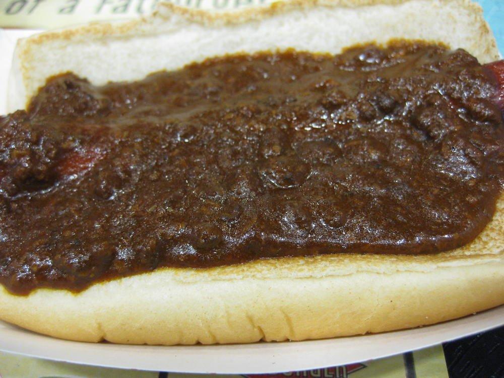 Fatburger Chili Dog