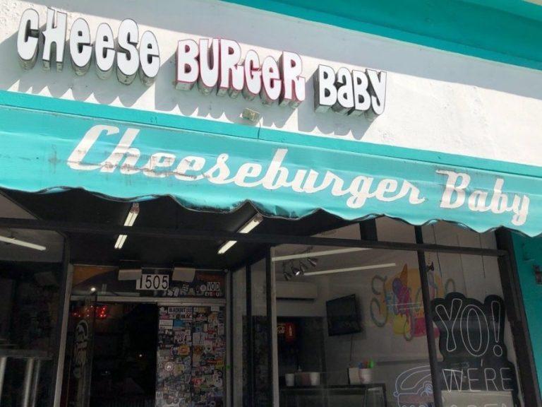 Cheeseburger Baby is a Reason to Visit Miami Beach