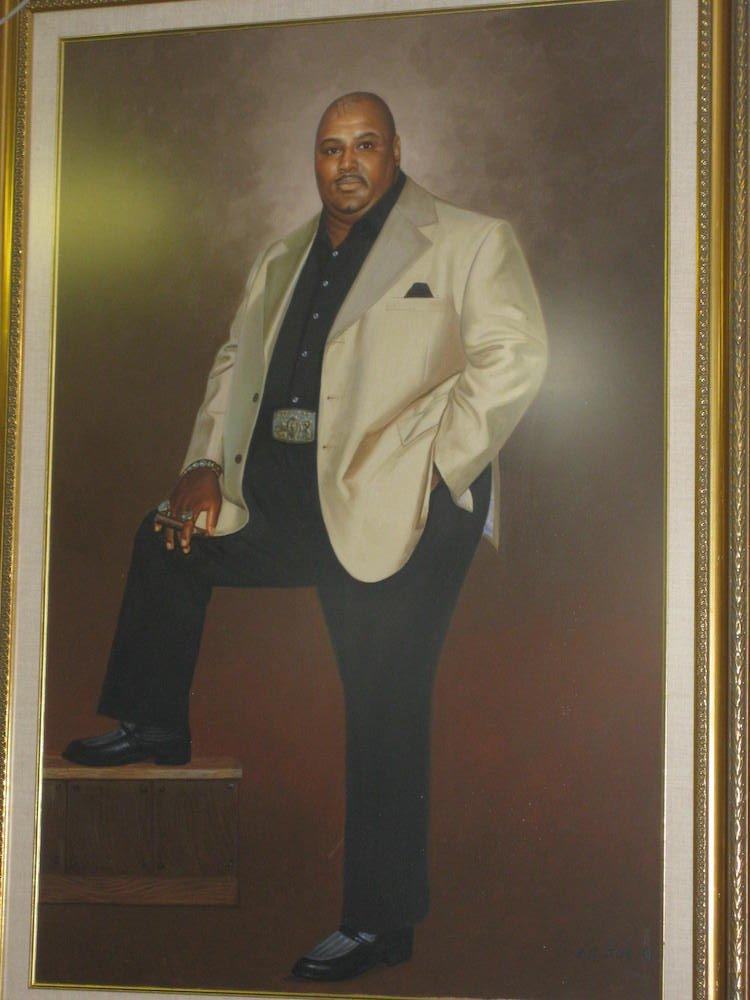 Abdullah the Butcher Portrait