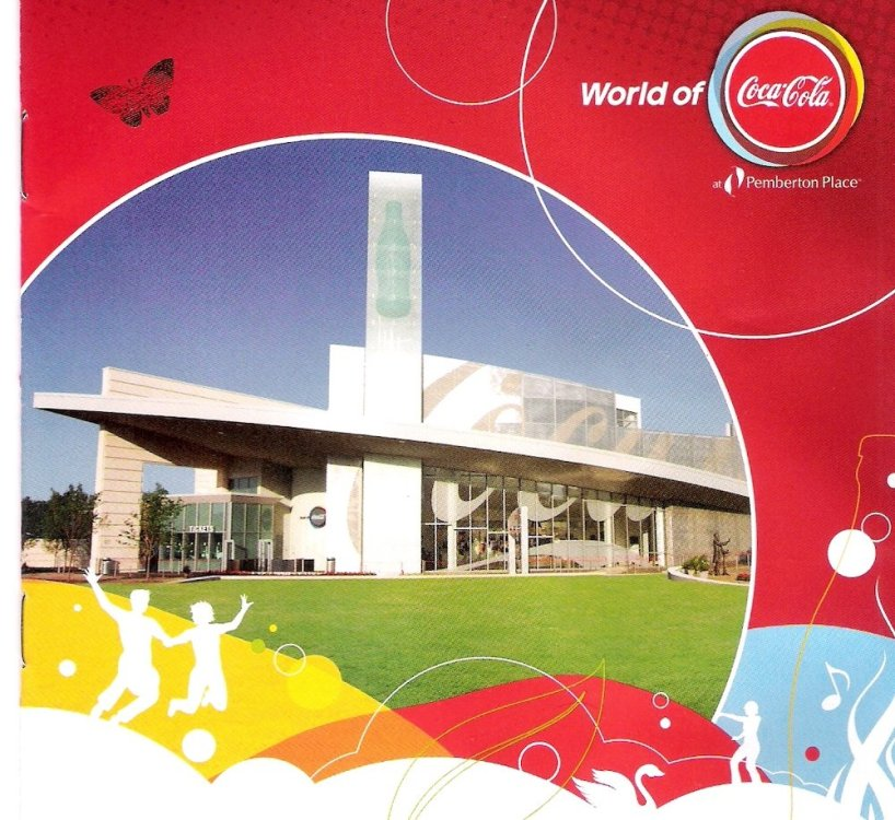 World Of Coke Booklet