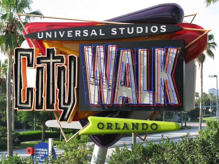 City Walk Neon Sign