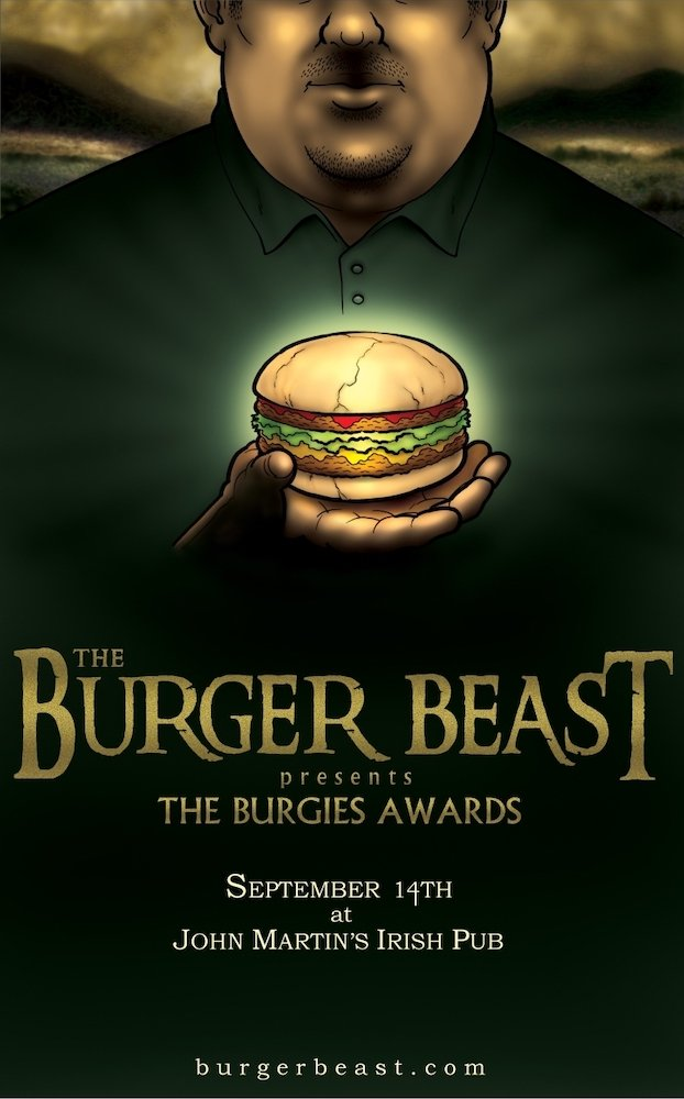 Burgie Awards Poster 2009 by Andrew Shirey