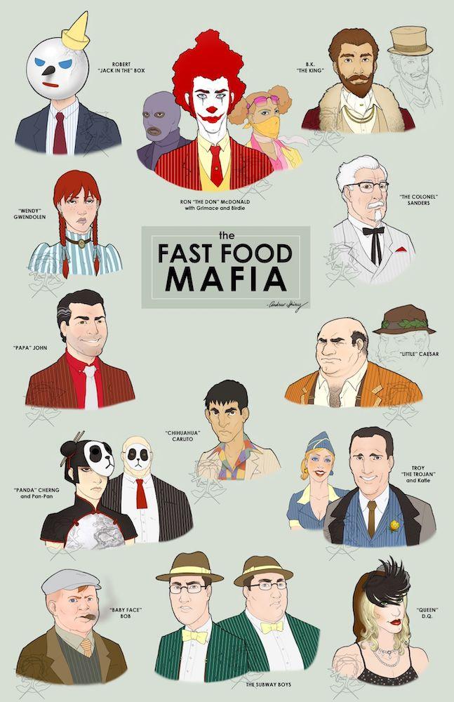 Fast Food Mafia by Andrew Shirey