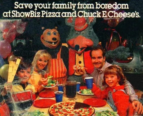 ShowBiz & Chuck E. Cheese Ad