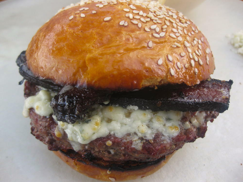 Oregonzola Burger
