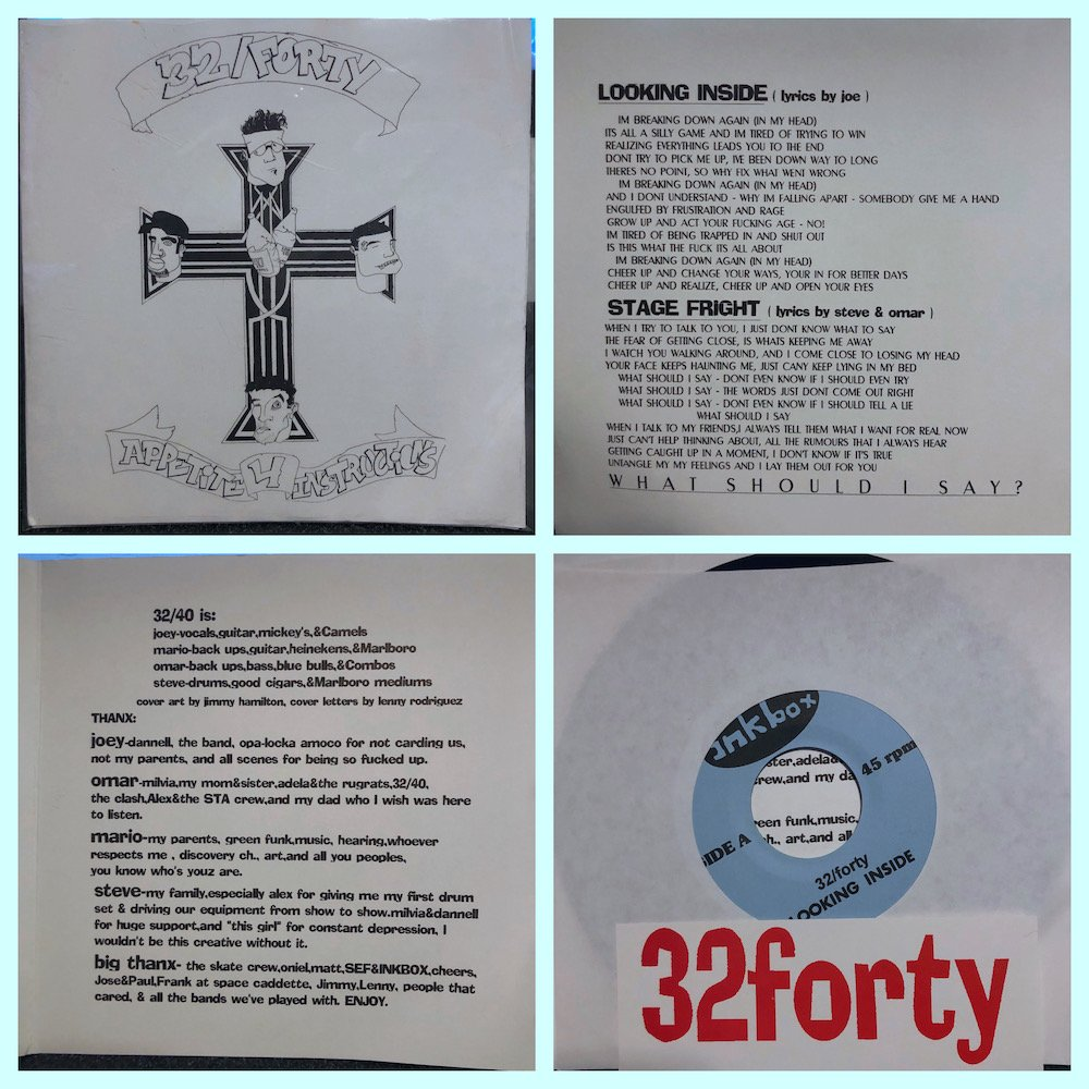 32 Forty on Inkbox Records