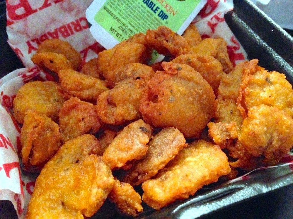 Spicy Fried Mushrooms