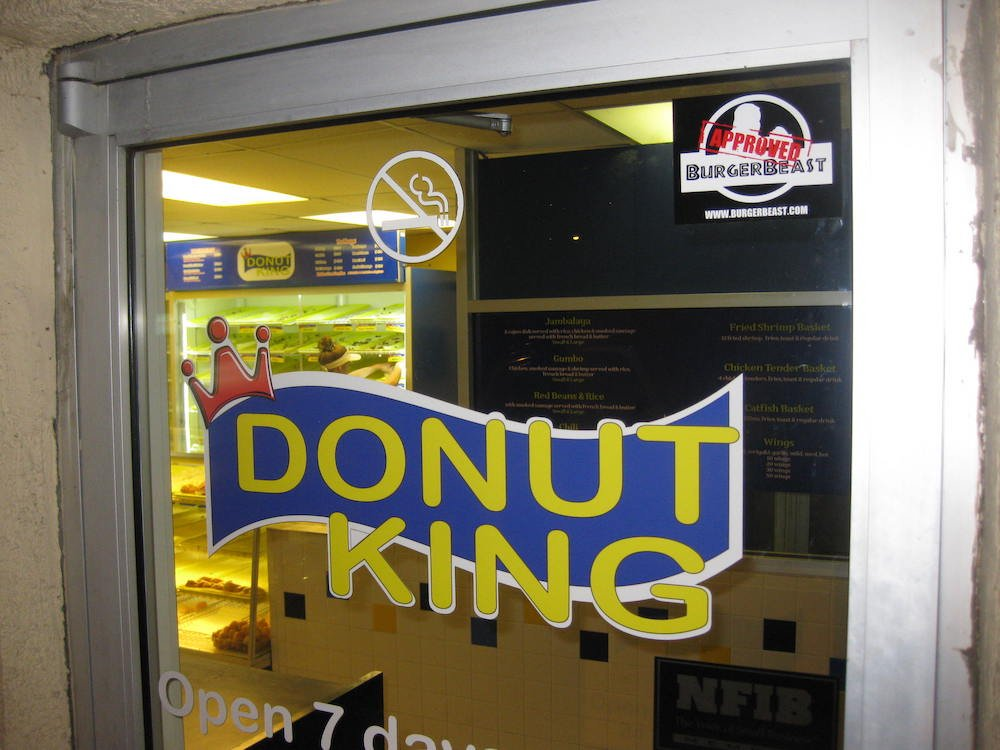 Donut King Minneola Door