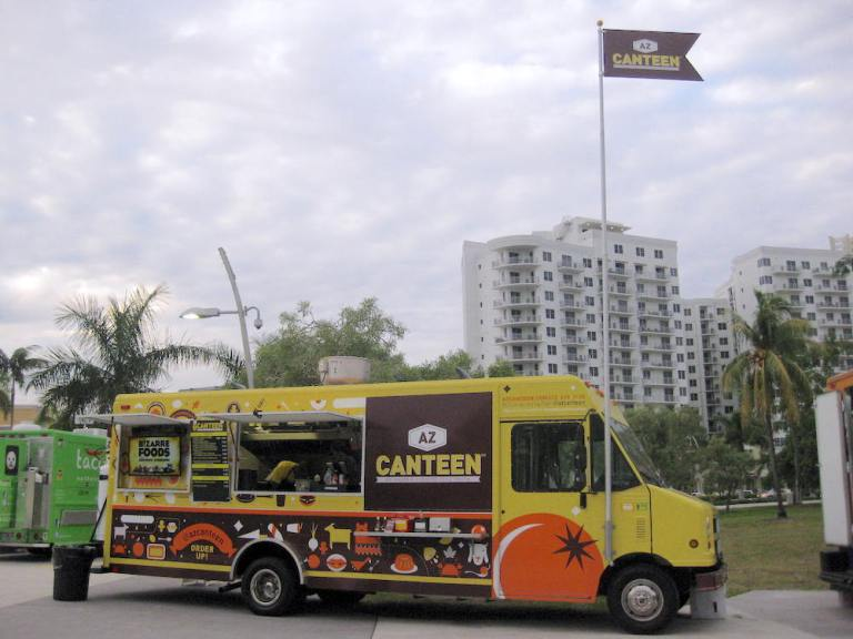 AZ Canteen Food Truck by Andrew Zimmern