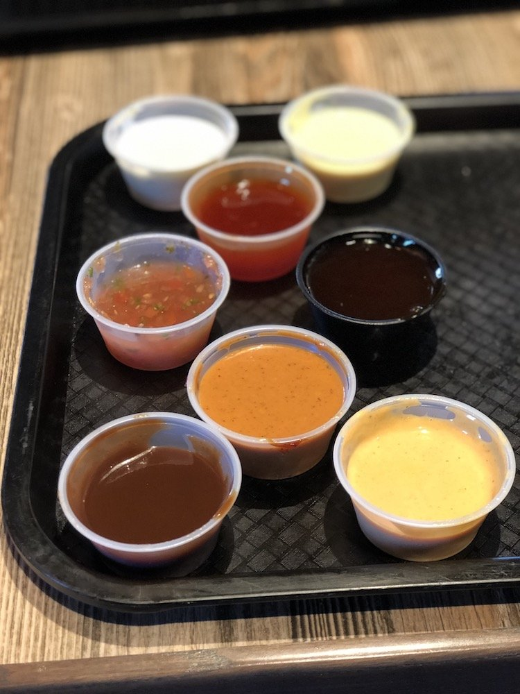 3 Chefs and a Chicken Sauces