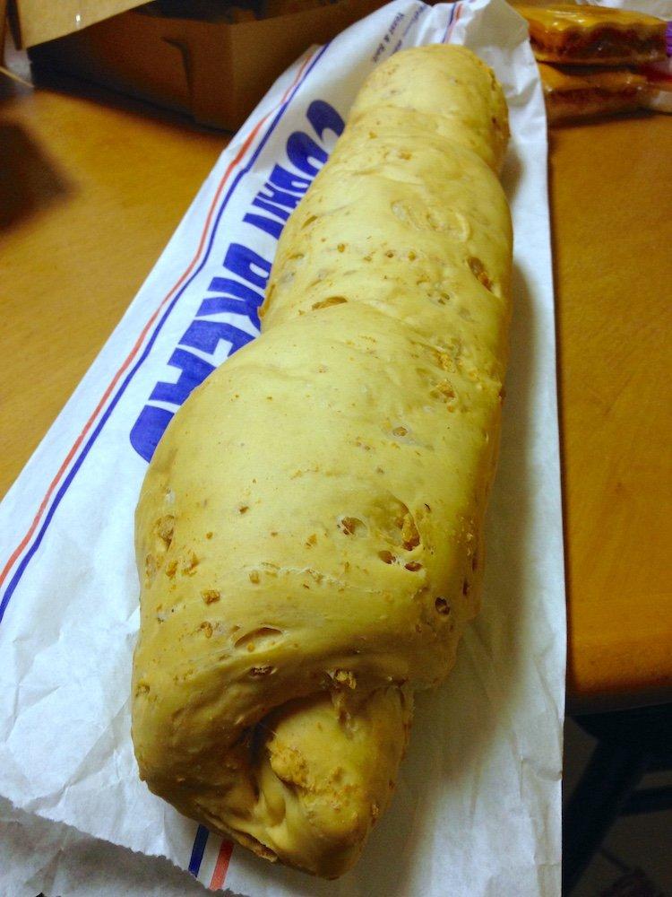 Chicharron Cuban Bread
