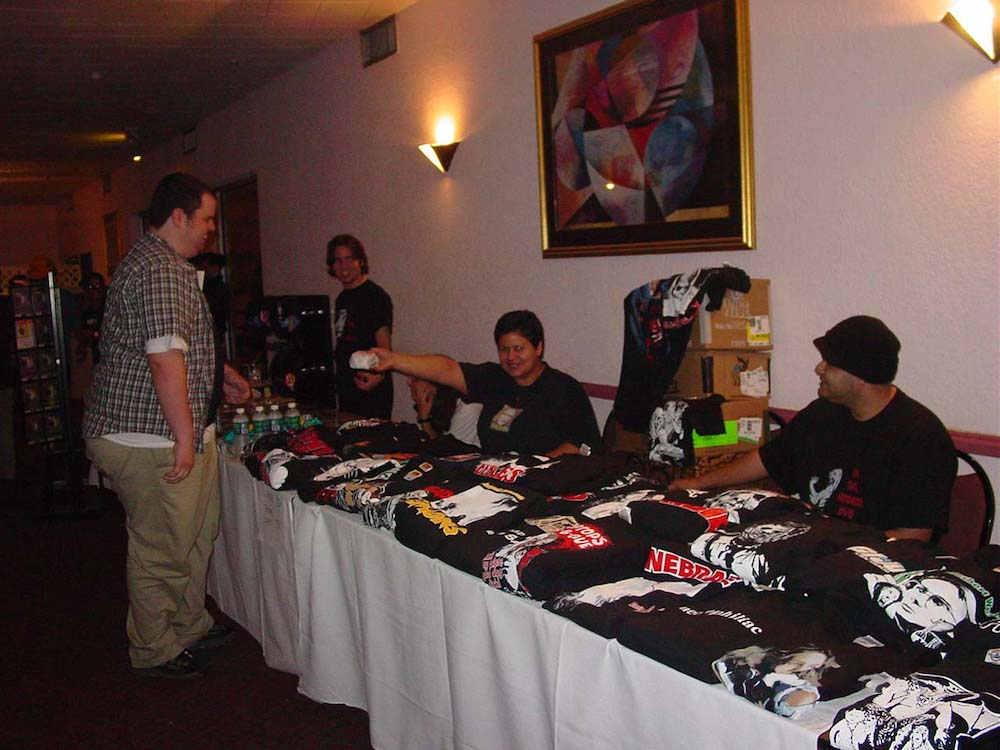 Oh, The Horror Table at Gorefest