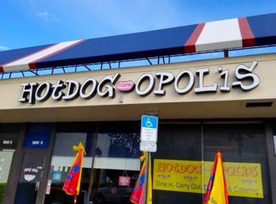 A Veritable Wienerpalooza at Hotdog-Opolis in Boca