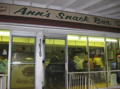 Ann's Snack Bar in Atlanta has a Ghetto Burger