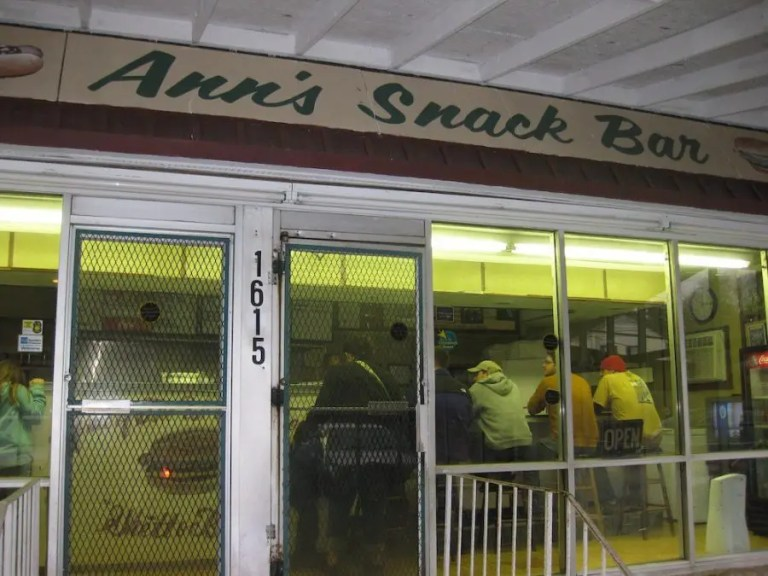 Ann's Snack Bar in Atlanta, Georgia