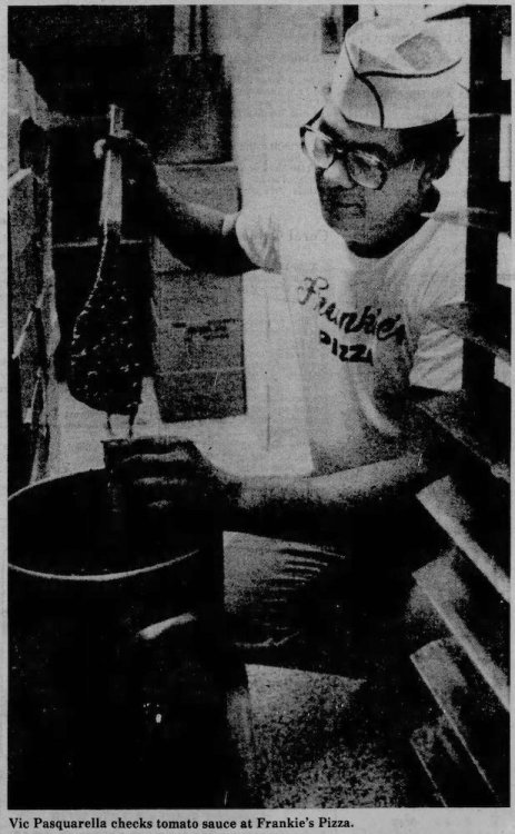 Frankie's Pizza - Miami Herald March 29, 1981
