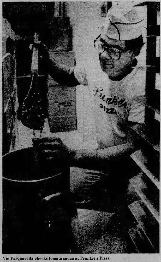 Frankie's Pizza - Miami Herald March 29, 1981