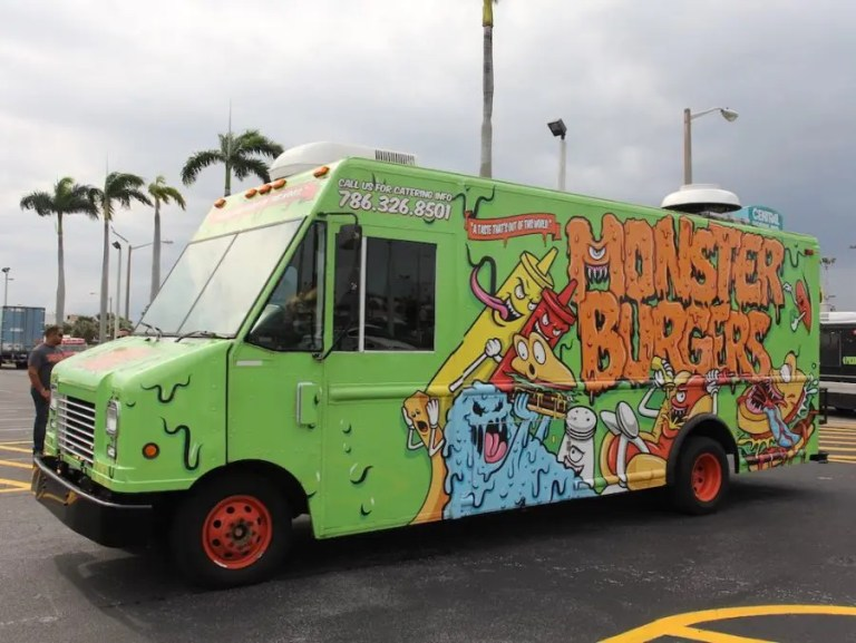Monster Burgers Food Truck