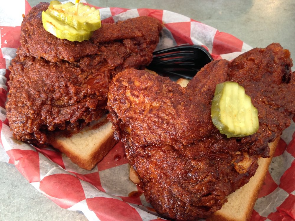 Large White Meat Hot Chicken