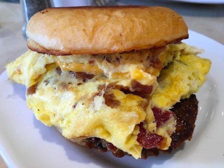 Bake Shack Breakfast Sandwich