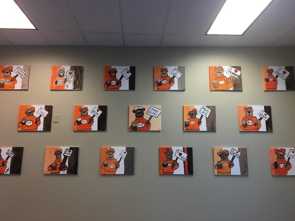Employee Rooty Paintings