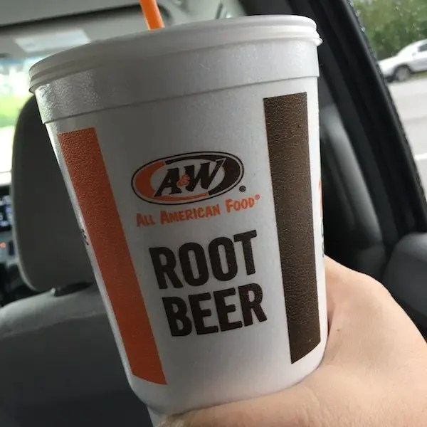 A&W Root Beer on the Road