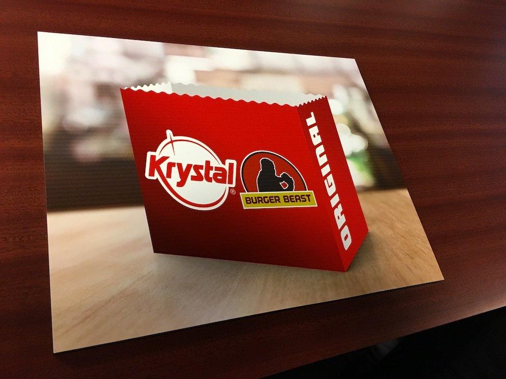 A Gift from Krystal Hamburgers