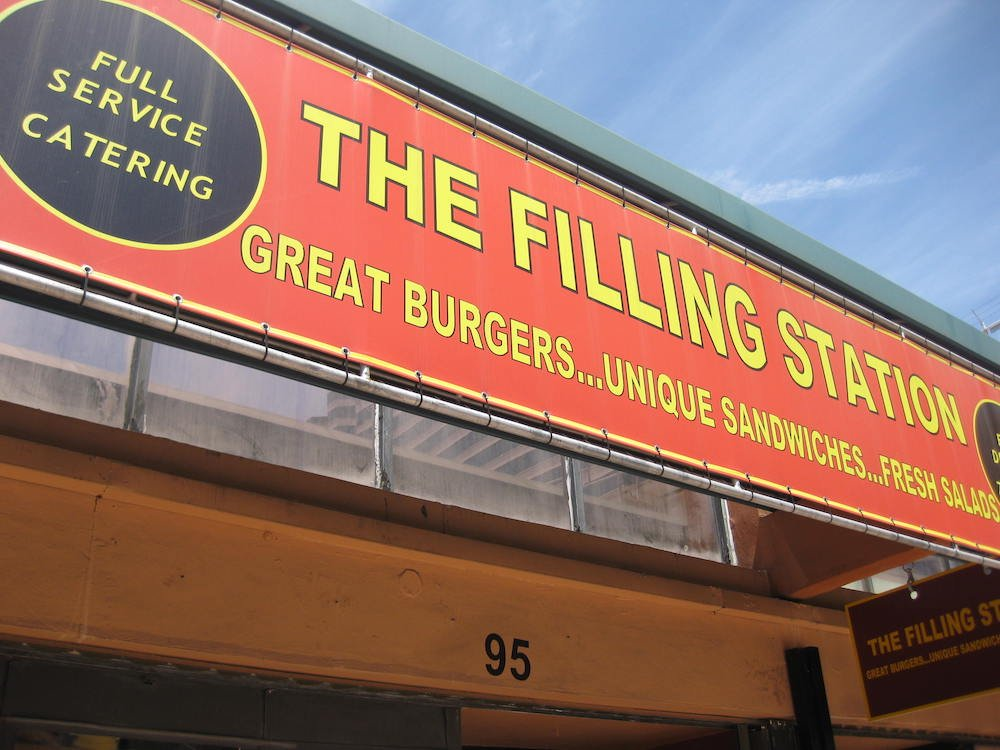The Filling Station in Downtown Miami