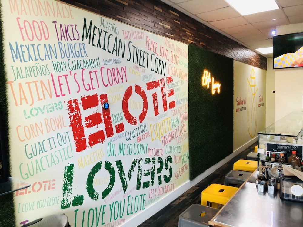 Elote Thoughts Wall