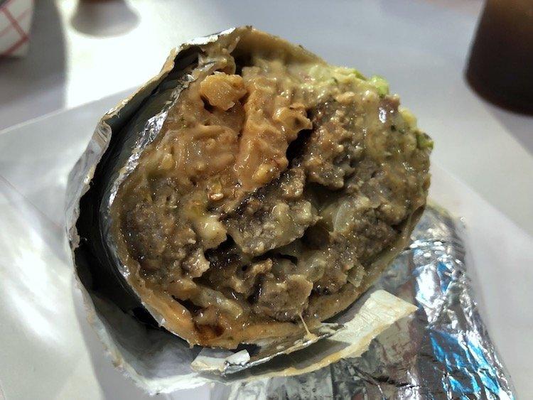 El Alpha Burrito Burger